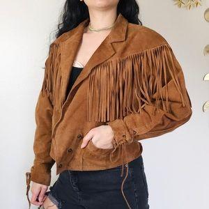 Wilson's Leather Western Fringe Jacket